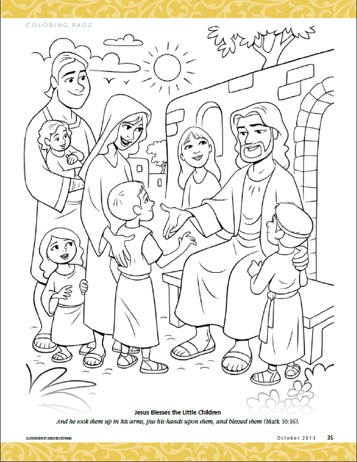 Jesus Blesses the Little Children   Primary ideas   Pinterest ...