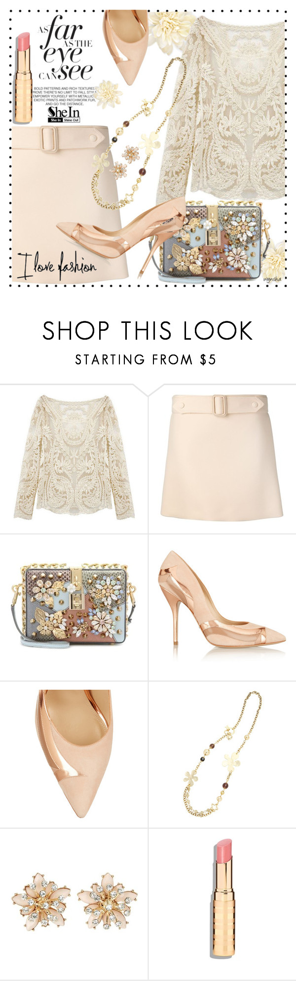 """I LOVE Fashion #1"" by wynsha ❤ liked on Polyvore featuring Johnny Loves Rosie, Calvin Klein Collection, Dolce&Gabbana, Paul Andrew, Orcival, women's clothing, women, female, woman and misses"