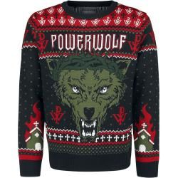 Photo of Powerwolf Holiday Sweater WeihnachtspulloverEmp.de