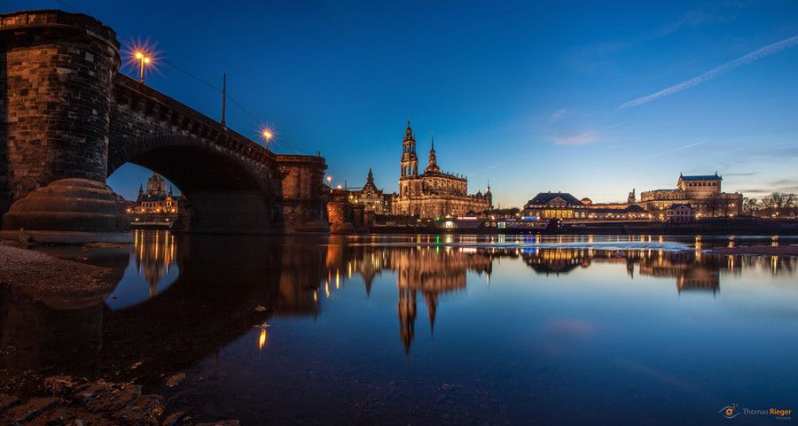 Dresden Elbufer by Thomas Rieger on 500px