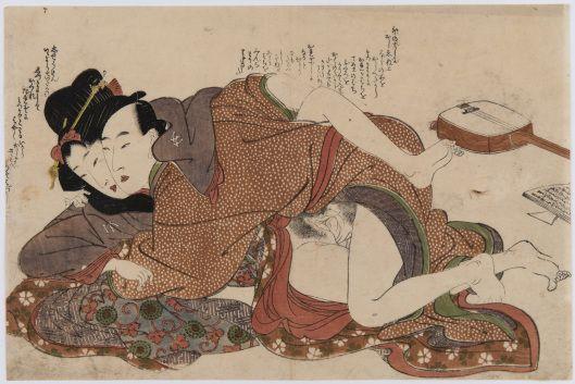 .:. Kitagawa Utamaro, Livre des lettres (Ehon Uikanmuri), c. 1800. Museo delle Culture, Lugano © Photo : 2014 Museo delle Culture, Photo A. Quattrone