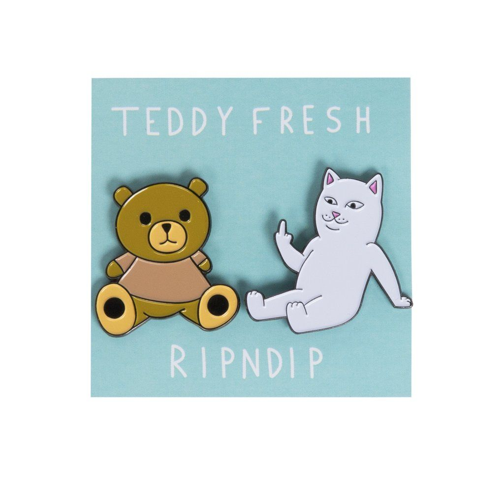 c7538aed Teddy Fresh BFF Pin Pack in 2019 | Pins & Patches | Pin collection ...