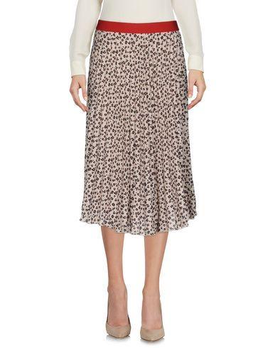 KONTATTO Women's 3/4 length skirt Beige S INT