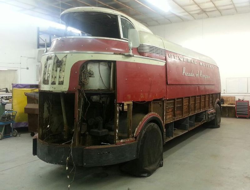 "Most original unrestored"" Futurliner goes und 