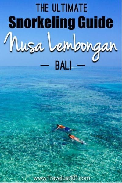 Nusa Lembongan | Things to Do in Bali | Snorkeling in the crystal clear waters of Nusa Lembongan is something you don't want to miss on your next trip to Bali! Read this complete guide on when, where and how to snorkel around the Lembongan island. #nusalembongan #bali #snorkeling #baliindonesia #lembonganisland