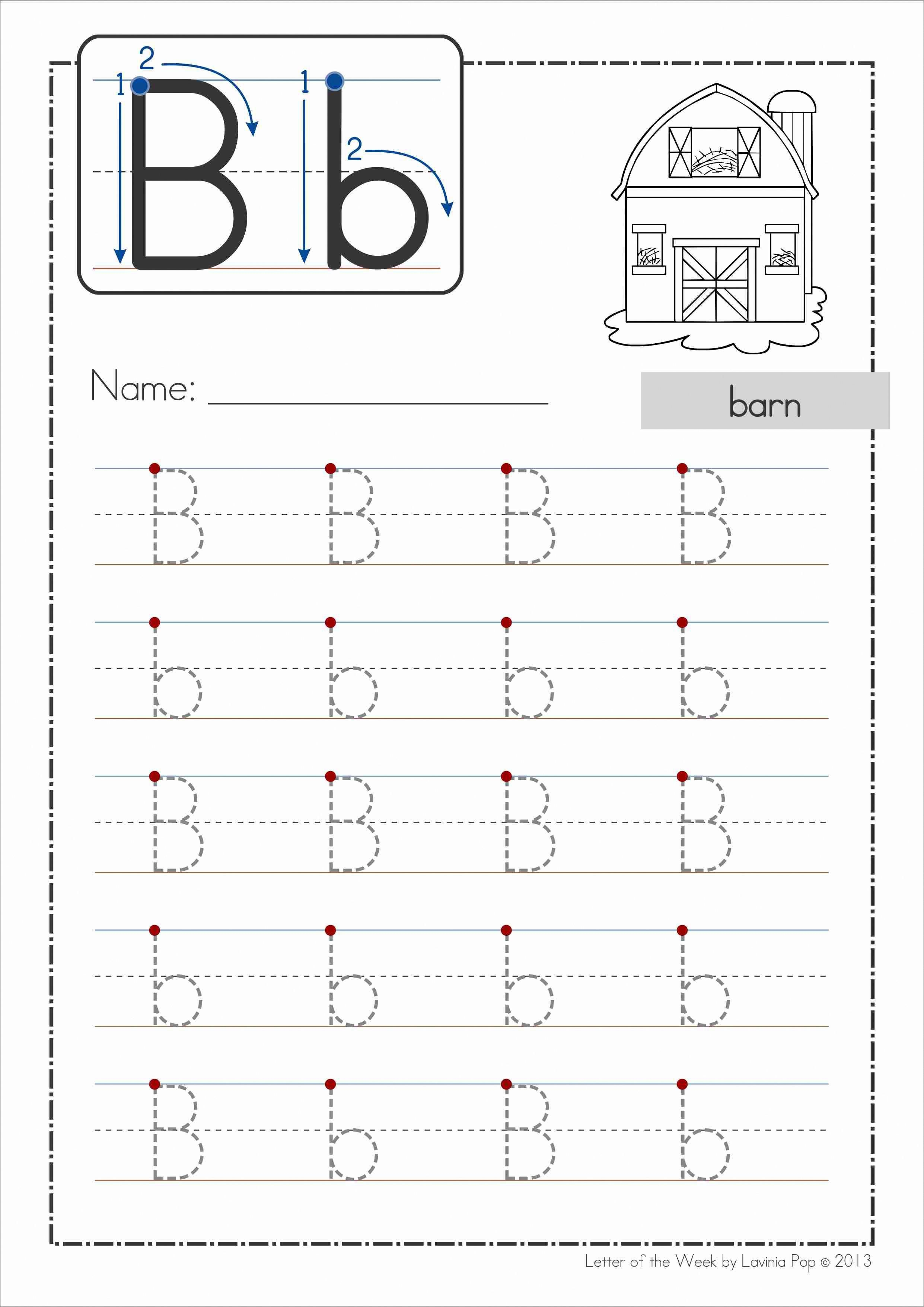 Phonics Letter Of The Week Bb Free A Huge Unit 81 Pages