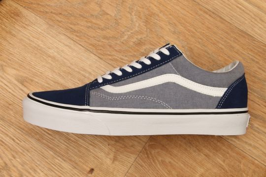 8e612c5ebf VANS OLD SKOOL SUEDE   CHAMBRAY ESTATE £54.95