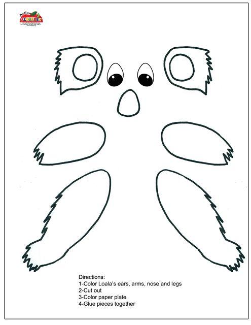 Koala Crafts Google Search Preschool Pinte