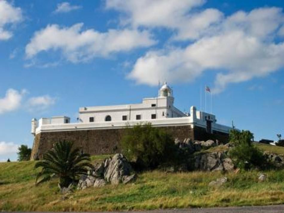 Fortaleza del Cerro protected the city from foreign invaders.