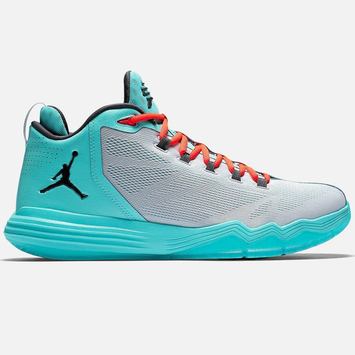 online store a671a 9fdeb air jordan cp3 green blue