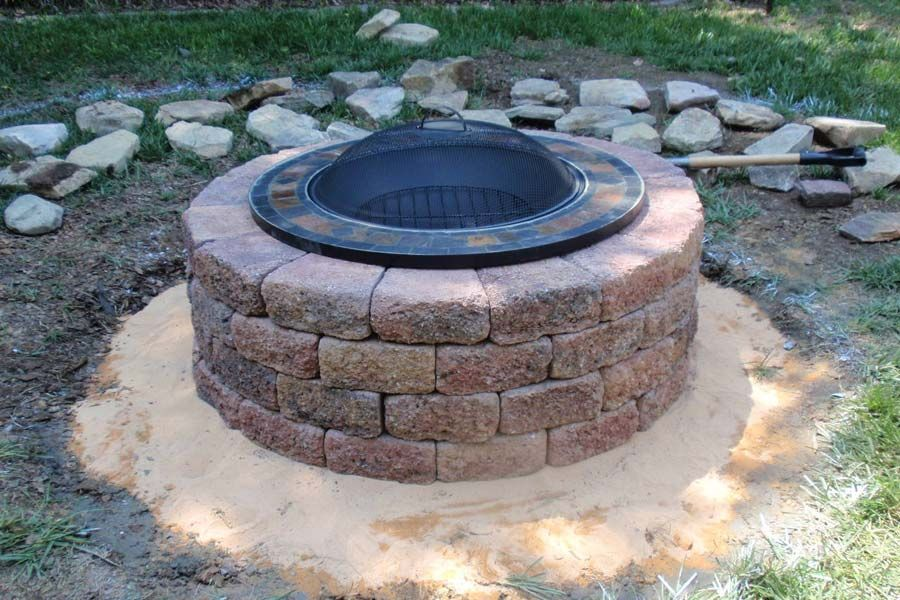 Brick Fire Pit Kit Uk Fire Pit Landscaping Ideas Design