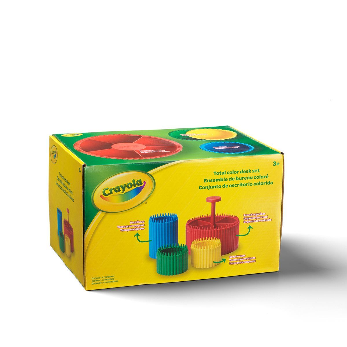 Buy Crayola Total Desk Organizing Set At Entertainment Earth Mint Condition Guaranteed Free Shipping On Eli In 2020 Desk Organizer Set Desk Organization Entertaining
