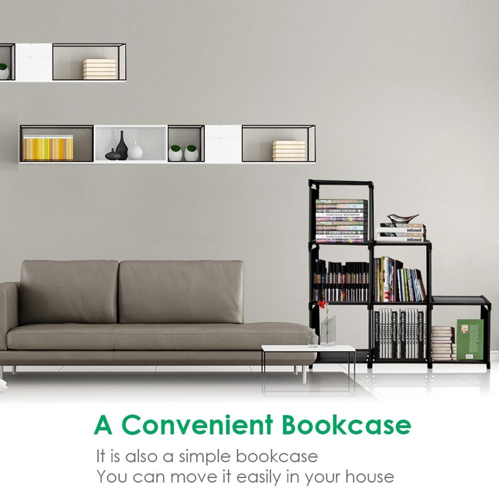 TomCare Cube Storage 6-Cube Closet Organizer Shelves Storage Cubes Organizer
