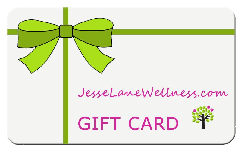 Buy a gift card from jesse lane wellness gift card buy