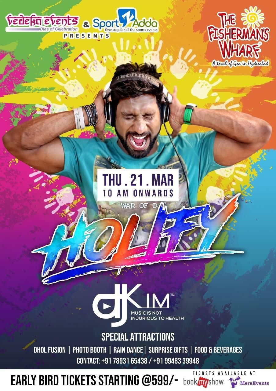 Holi 2019 Events in Gachibowli, Financial District, Hitech City, Hyderabad