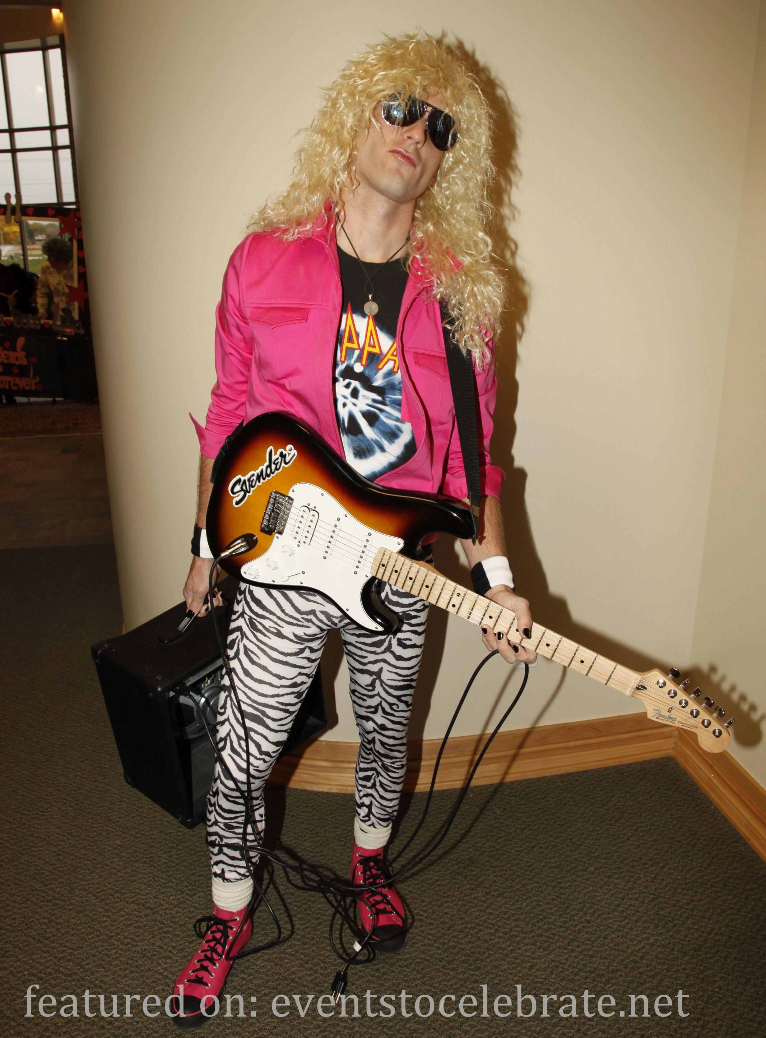 80s rocker halloween costume plus 42 diy halloween costume ideas - 80s Rocker Halloween Costume