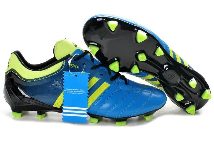 sports shoes e35f0 aefc7 adidas adiPure V TPU 11Pro SL Black Blue Green  Adidas AdiPure  Pinterest   Blue green and Soccer shoes