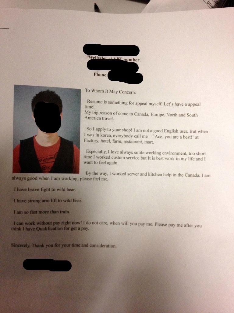 best images about cover letter fails the 17 best images about cover letter fails the internet county jail and funny
