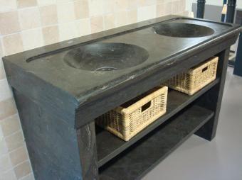 Wasbak natuursteen - natuurstenen wastafel | Granito Natuursteen ...