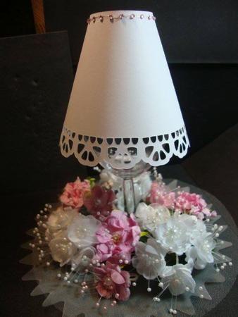 Wineglass Tealight Lamp Shades No 2 Studio File On Craftsuprint