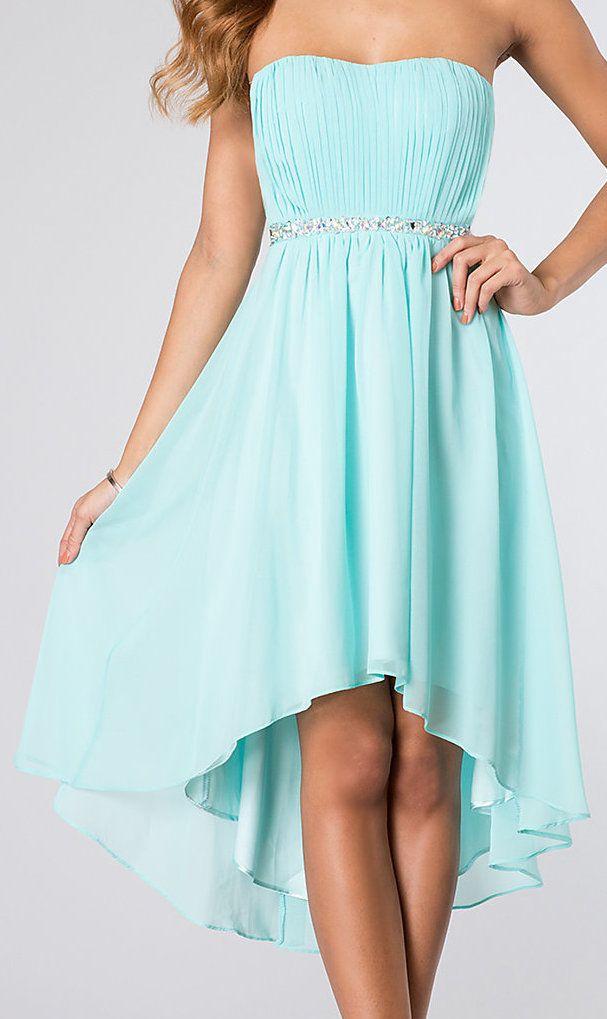 Bridesmaid dress dream wedding ideas pinterest for Wedding dresses with tiffany blue