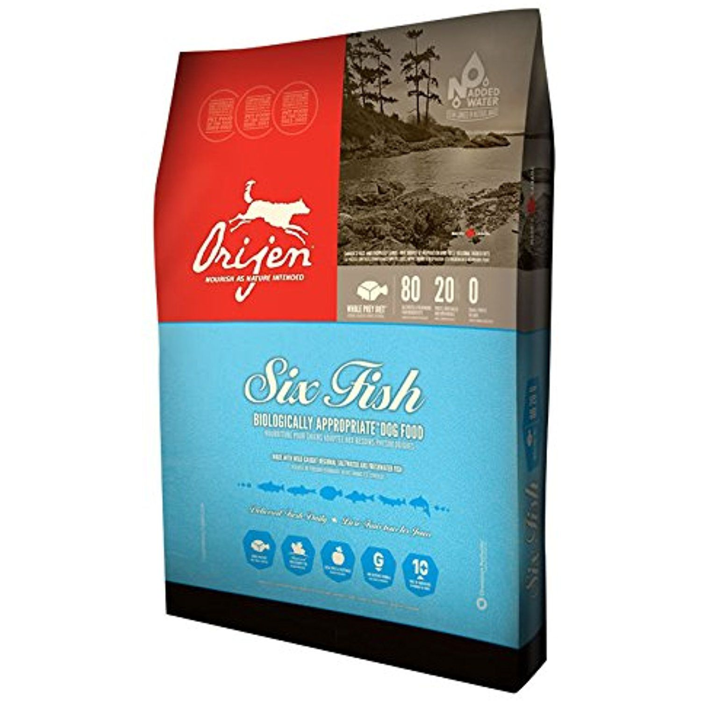 Orijen 6 Fish GrainFree Formula Dry Dog Food 28.6 lb. Bag