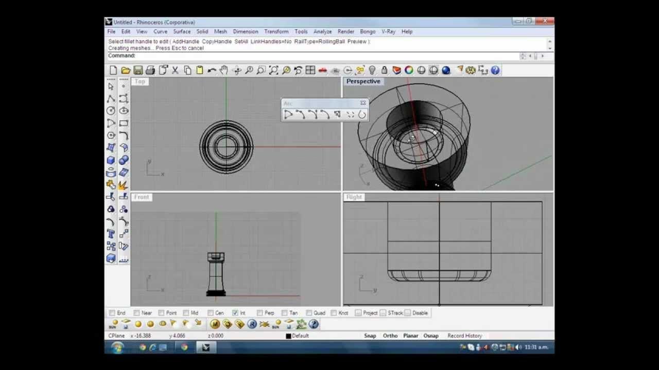 Rhino 3d Modelar Fichas De Ajedrez Torre Rhino 3d Fichas Tutoriales