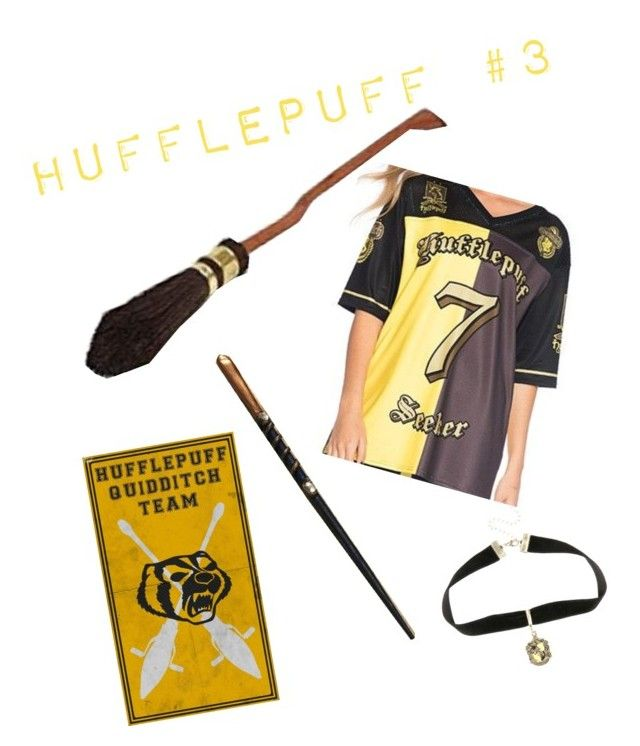 """""""Hufflepuff: Quidditch"""" by the-shadow371 on Polyvore featuring Warner Bros."""