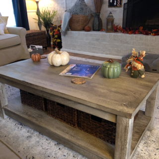 Parsons Tobacco Brown Coffee Table In 2020 Table Solid Wood Table Coffee Table Pier 1