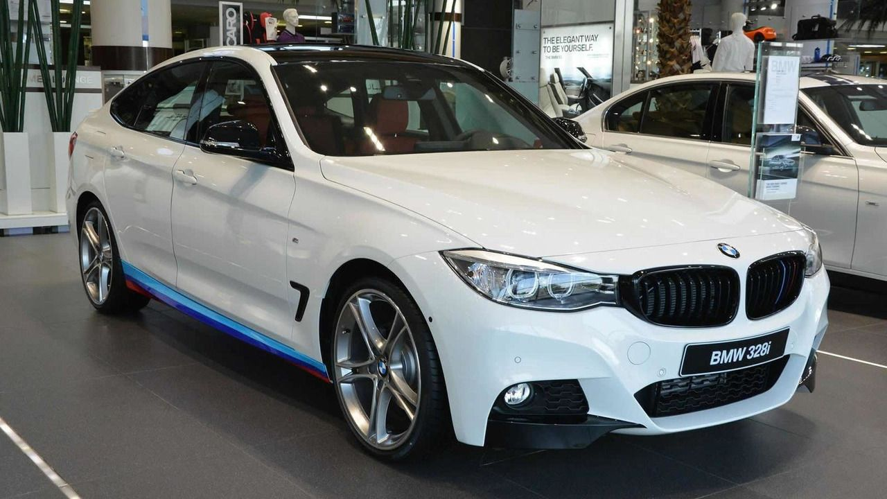 Bmw 3 Series Gt Kitted With M Performance Goodies Exhibited At Abu