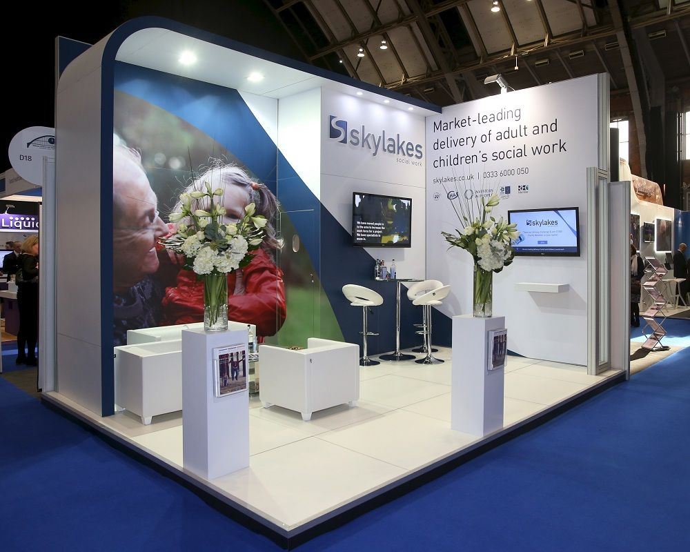 Exhibition Stand Corner : Skylakes exhibition stand expo ideas booth