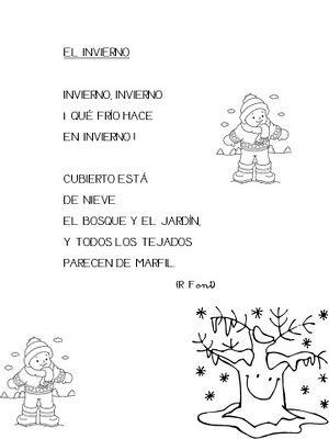 El invierno poema prek - Proyecto el invierno ...