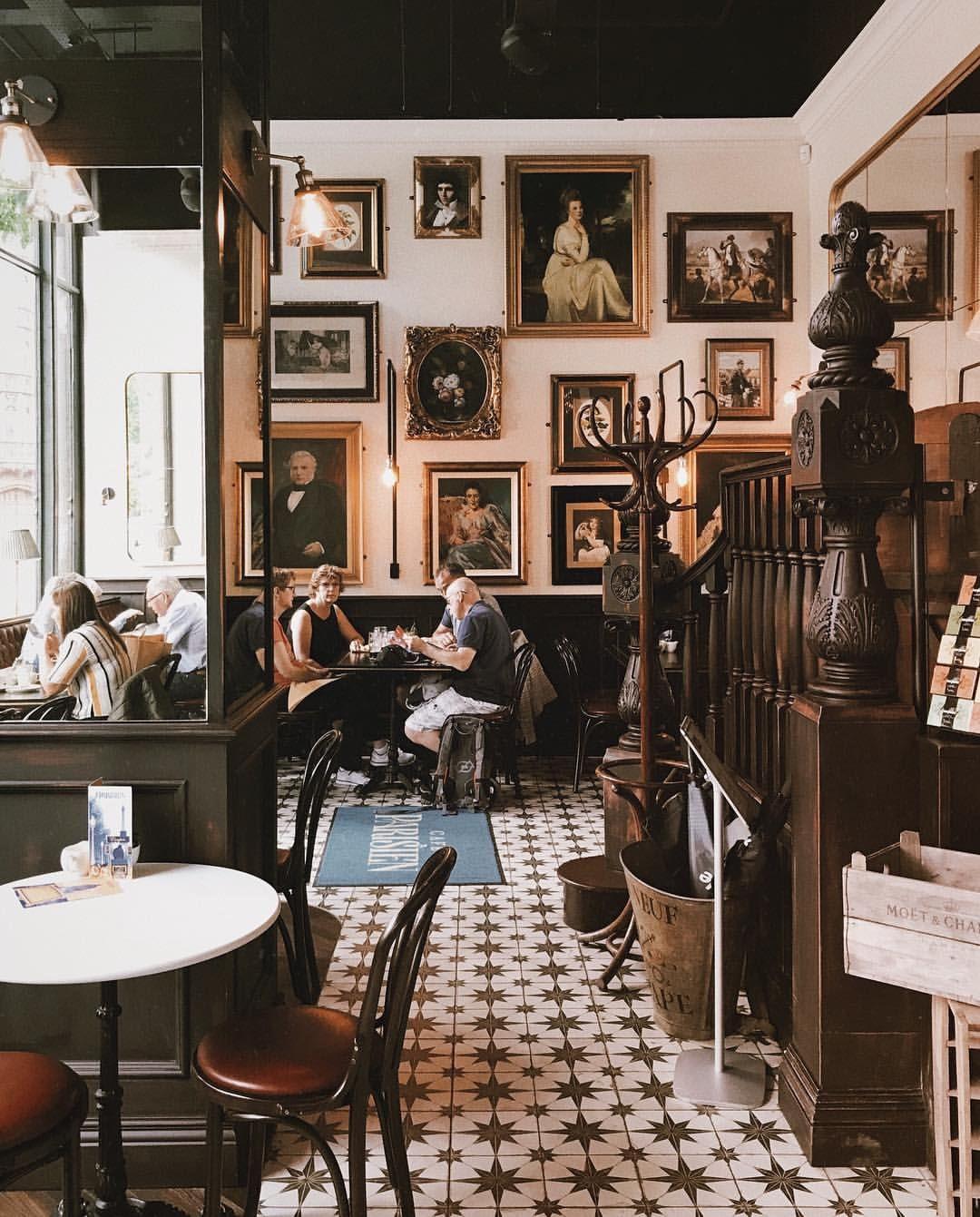 Beautiful Café Parisien inspired by the 20st class café on Titanic ...