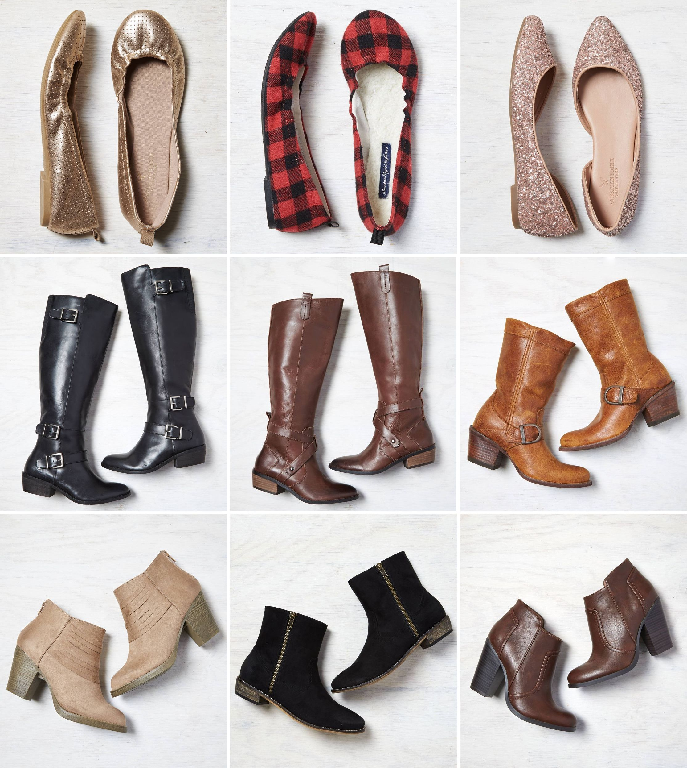 LOVE These Shoes!!! They would all be cute for visiting friends and family around the holidays. #shoes #boots #fashion