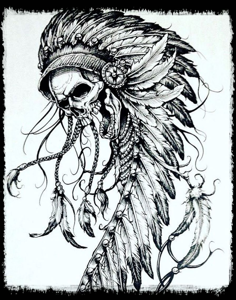 cecb5ace9 Affliction/Skull Warrior. Affliction/Skull Warrior Indian Headdress ...