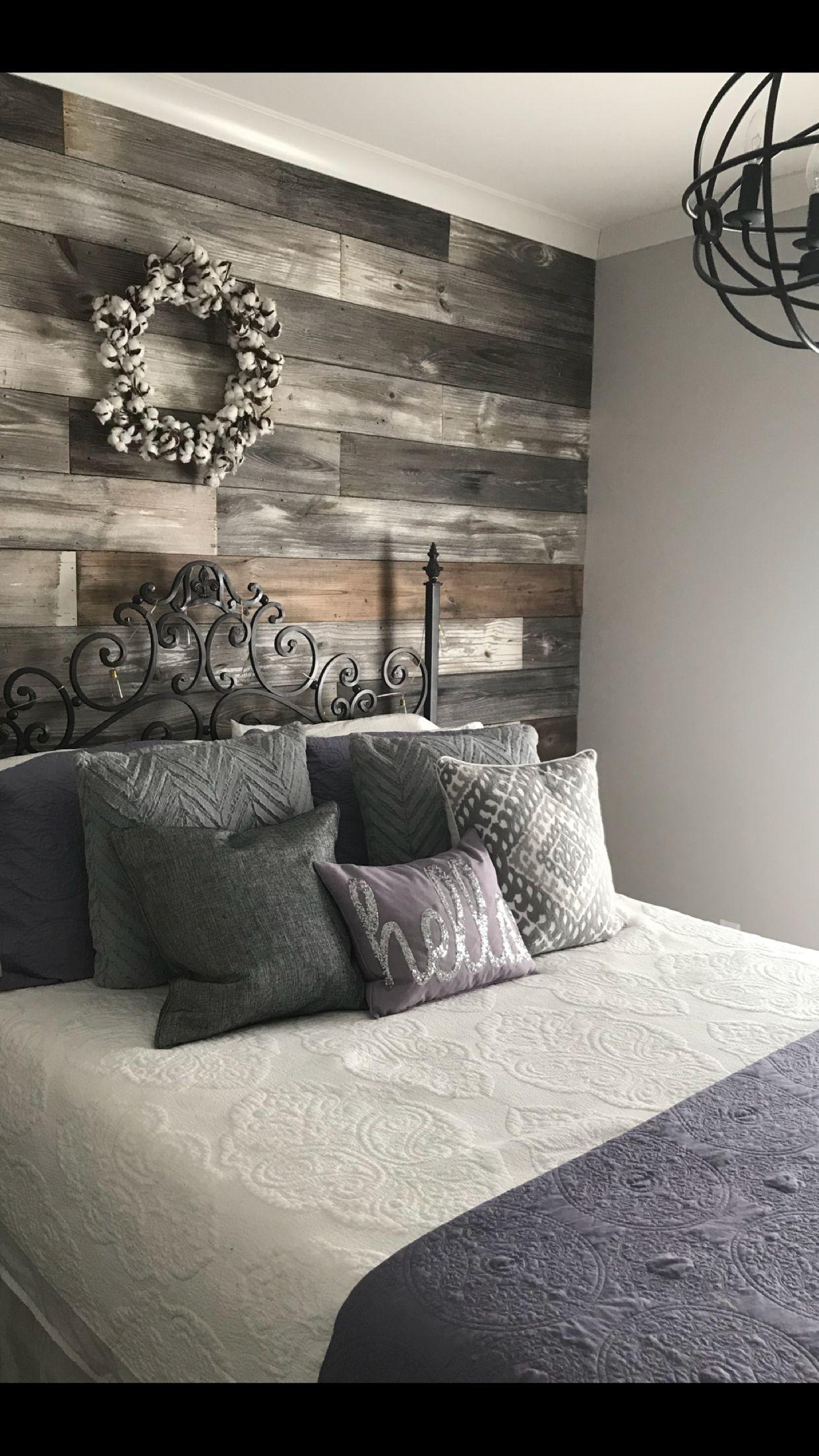 Master Bedroom Wood Accent Wall Ideas Novocom Top