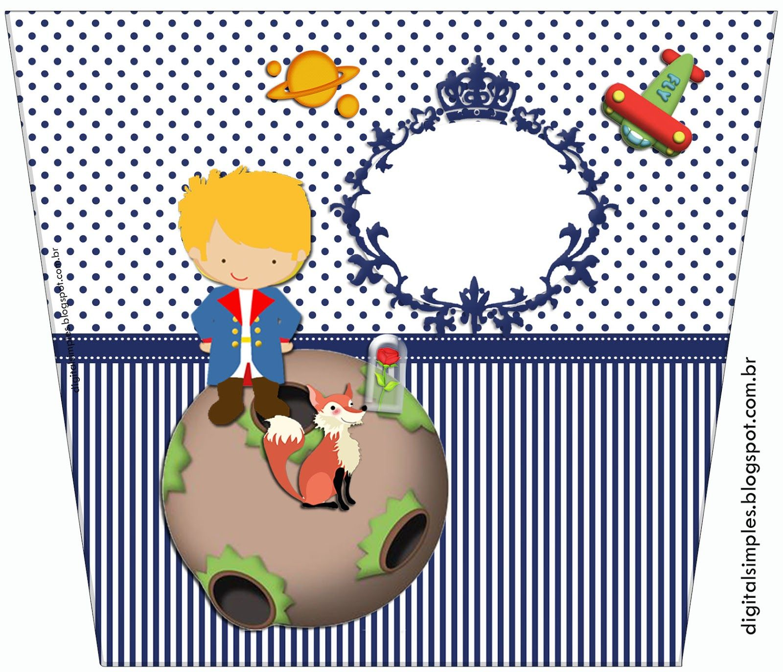 Festa Tema Pequeno Principe Para Imprimir Fiesta Del Principito