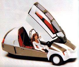 1981 Ford Cockpit concept
