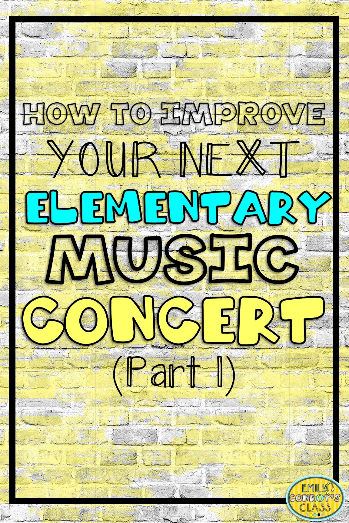 This blog post contains a FREE editable Save the Date for your next concert  along with