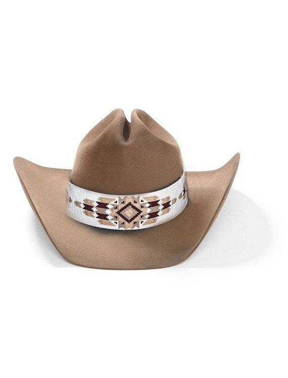 9cb58281 Cheyenne Native American Style Extra Wide Hat Band Hand Beaded ...