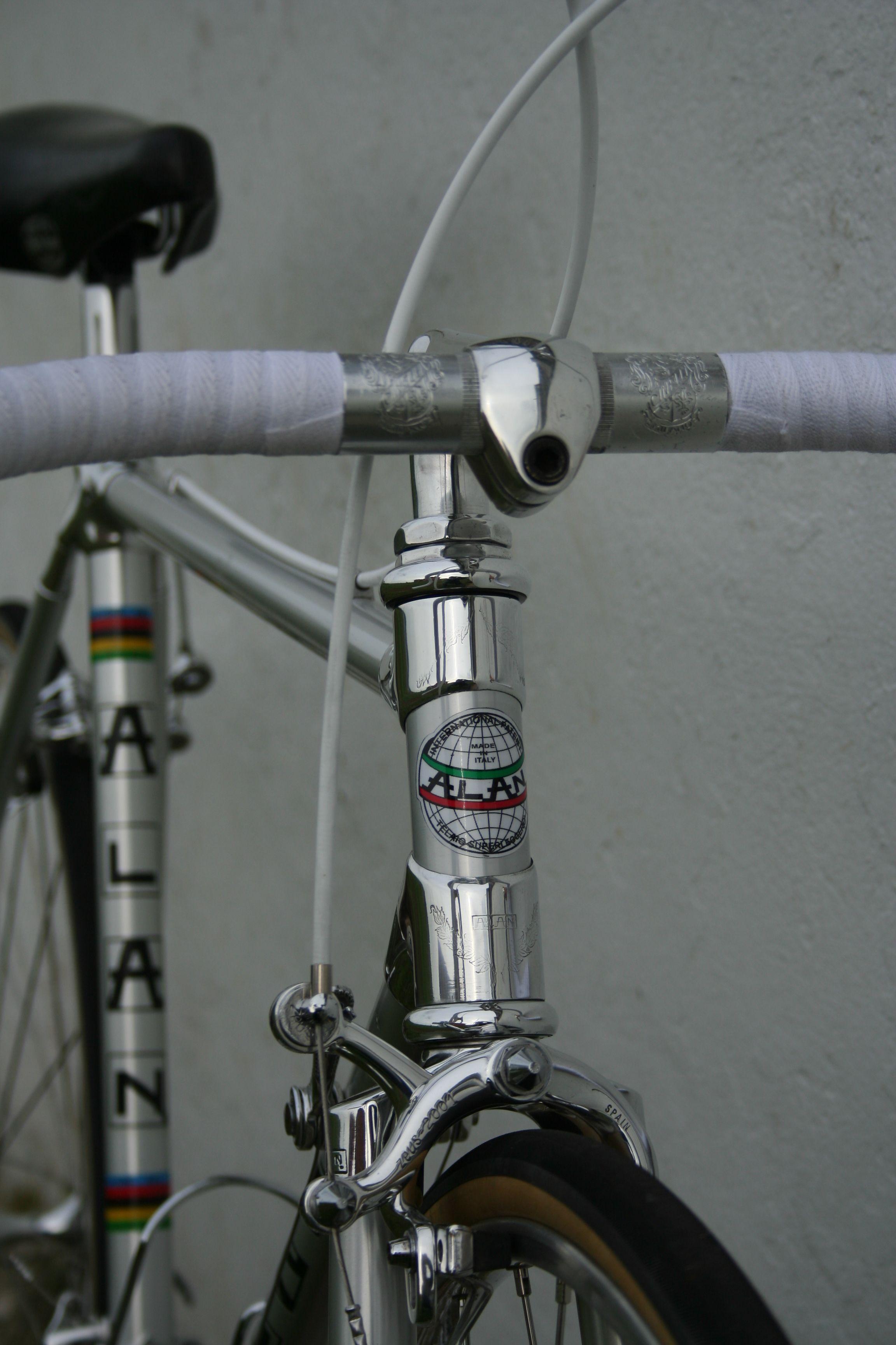 Alan Super Record Bike Swag Vintage Bikes Racing Bikes