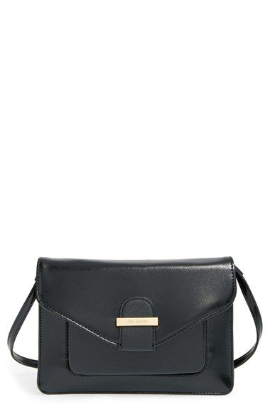 Ted Baker London Patent Crossbody Bag available at #Nordstrom