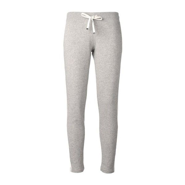 moncler grey tracksuit bottoms