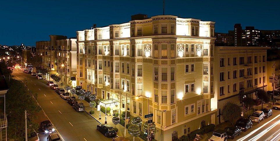 Luxury Hotels In San Francisco Hotel Majestic California