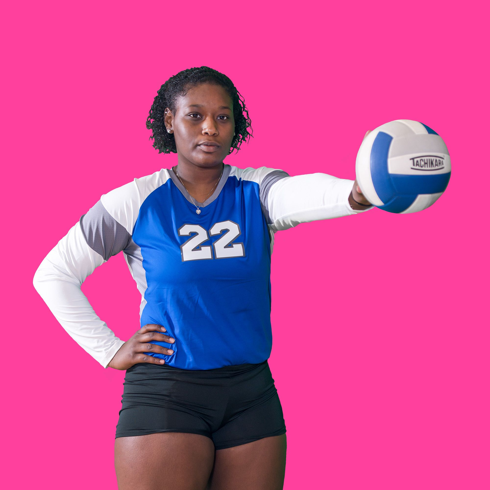 Setter Dasha Taylor In 2020 Women Volleyball Volleyball Pictures Volleyball Shirts