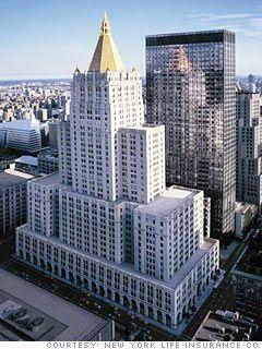 Nyc Manhattan New York Life Insurance Building Seguros