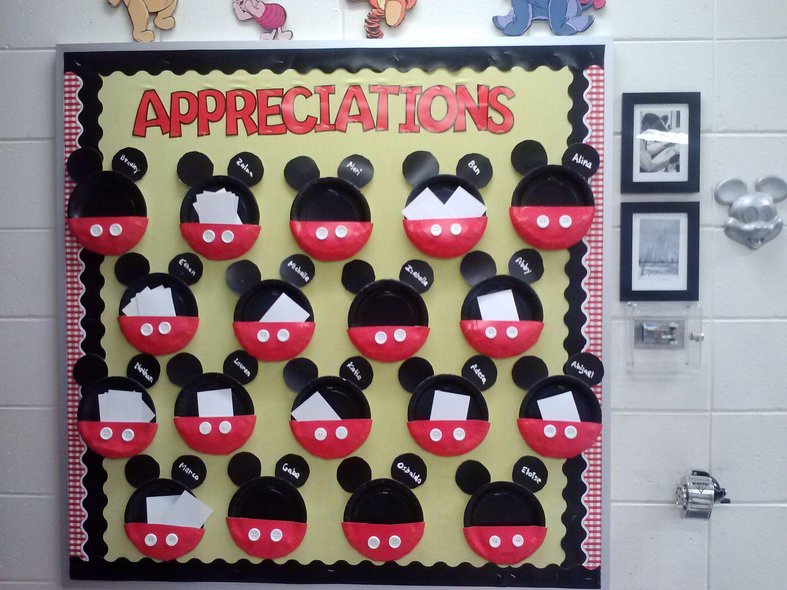 Appreciation Board In Use