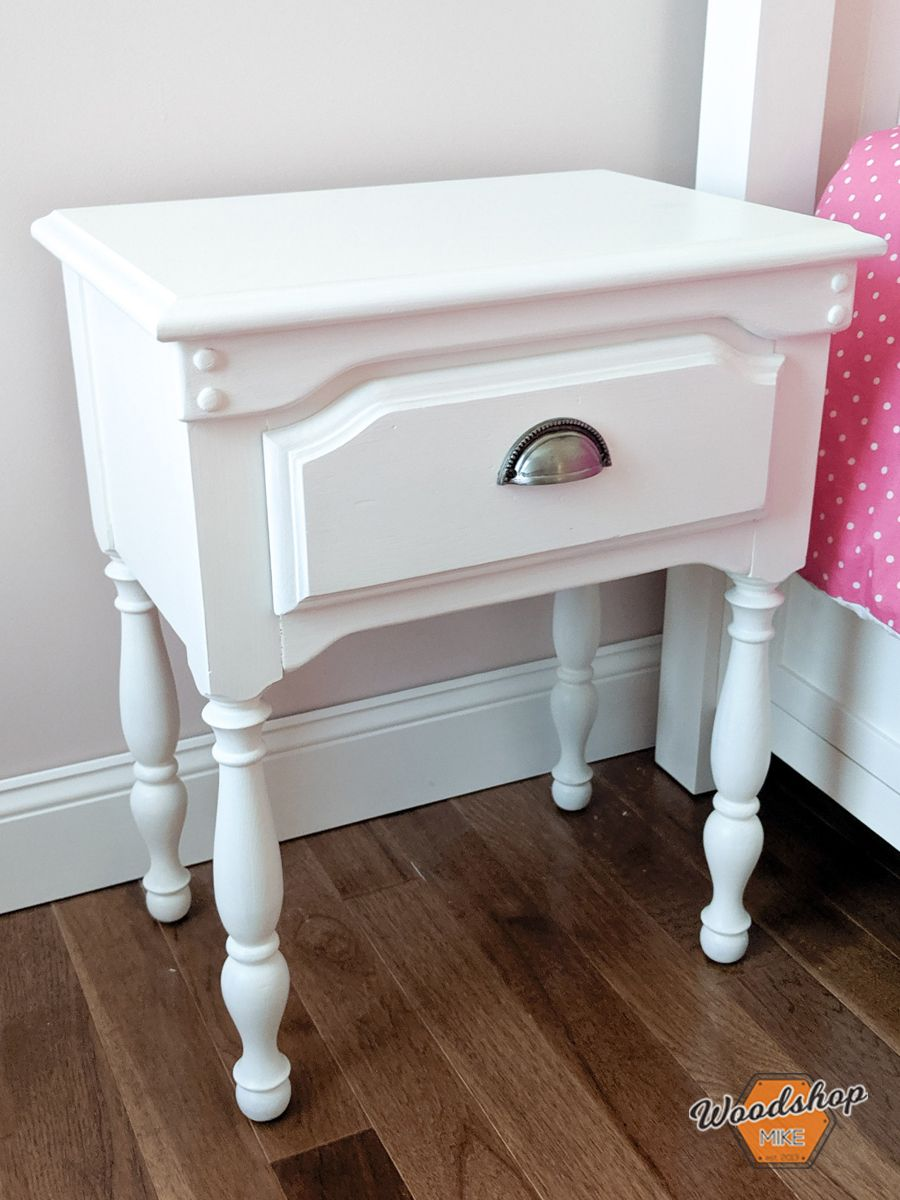 How to Restore an Old Nightstand Thrift store furniture