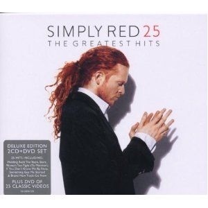 Simply Red The Greatest Hit's 25 (Deluxe 2 CD/DVD Edition) (PAL/Region 2) $17