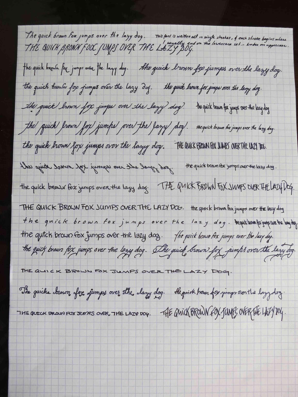 Lovely Good Handwriting Practice